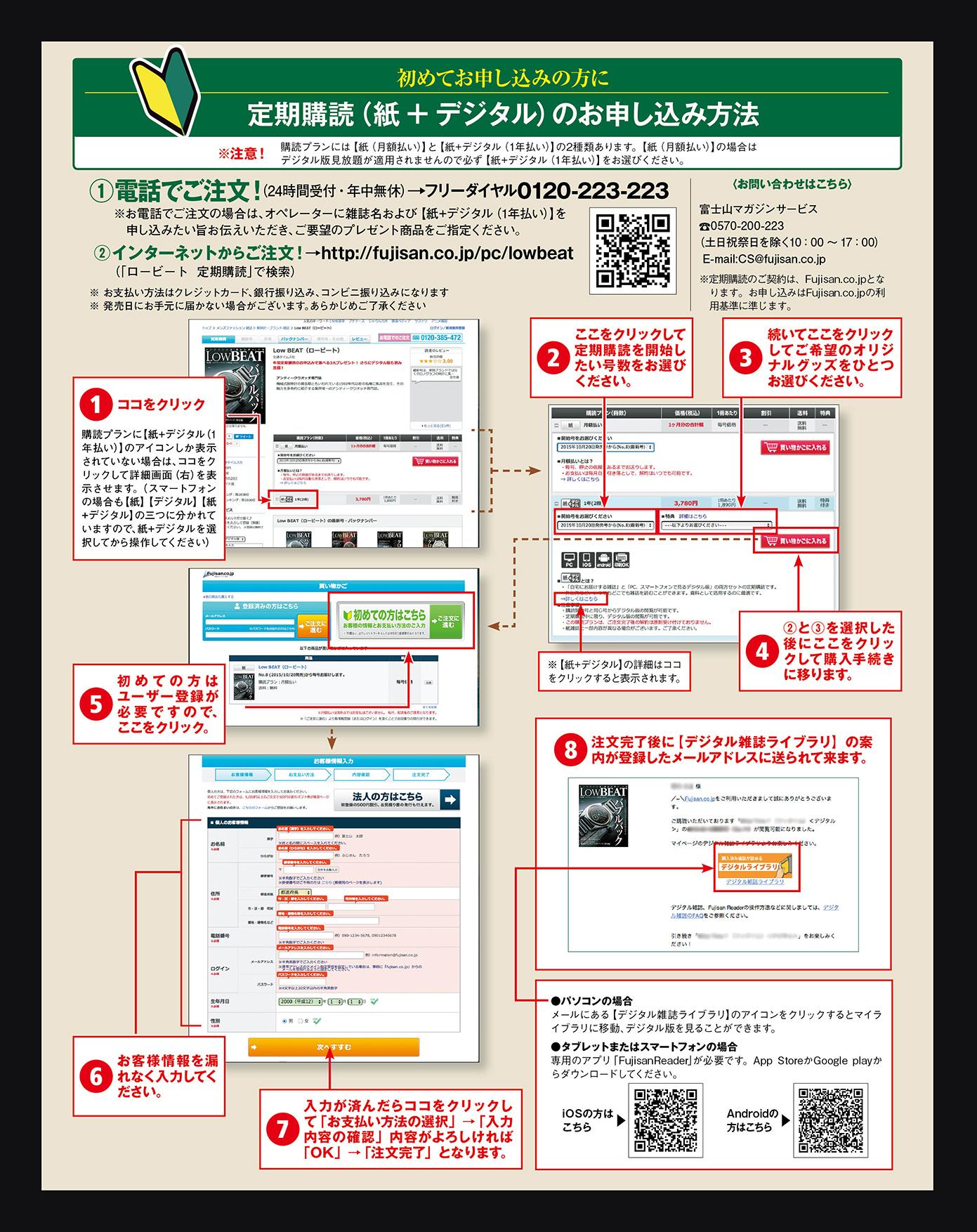 Information|定期購読