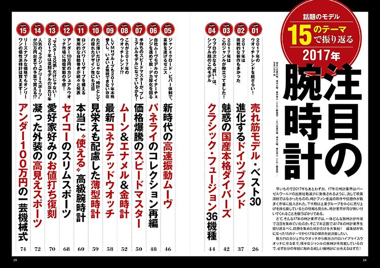 POWER Watch No.97特集
