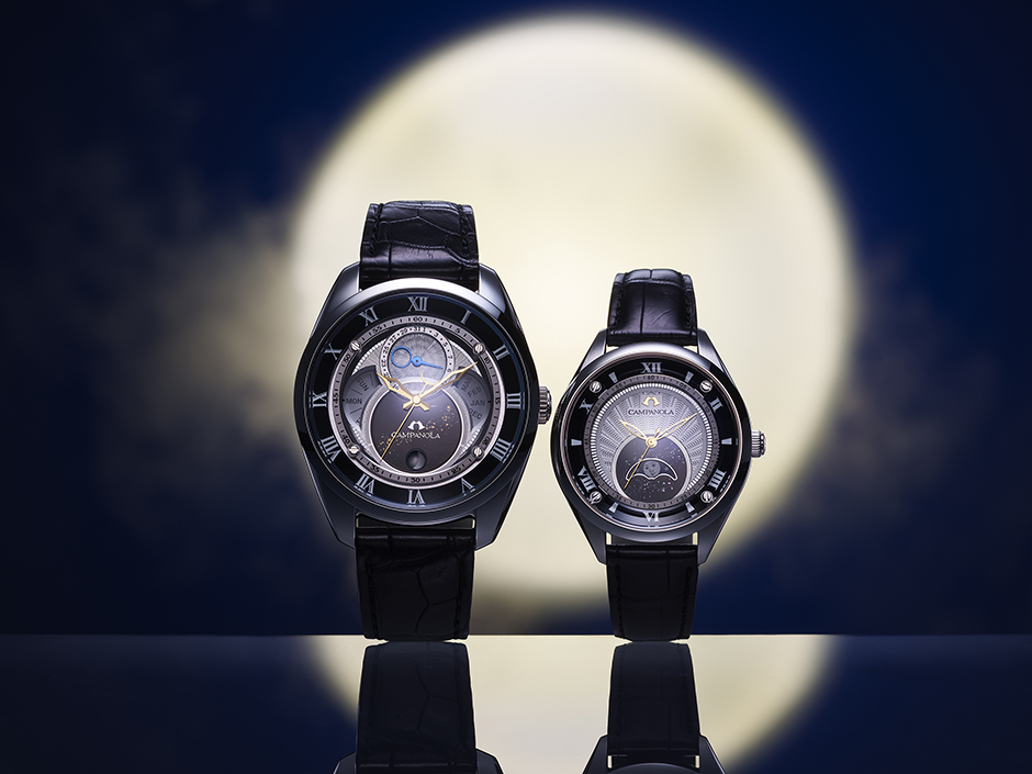 PowerWatch WATCH NEWS|CAMPANOLA/カンパノラ|ムーンフェイズ 結弦(ゆづる)
